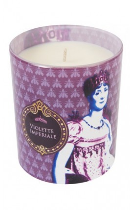 VIOLETTE IMPERIALE bougie Pop Art 190g 50 heures - Violette Impériale