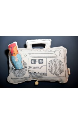 "BOÎTE À MUSIQUE ""GHETTO-BLASTER"" - ""LIFE ON MARS?"" DE DAVID BOWIE"