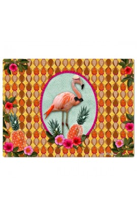SET DE TABLE RIGIDE FLAMINGO