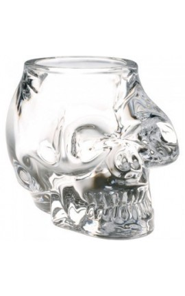BOUGEOIR CRISTAL SKULL