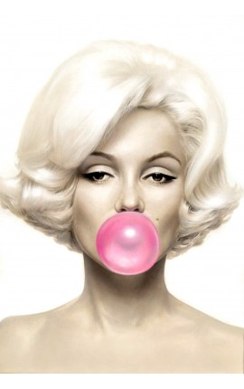 TABLEAU MARILYN BUBBLE