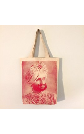 MAHARAJA - BAG DE COTON ROUGE