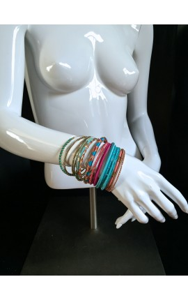 SET DE BRACELETS MULTICOLORE